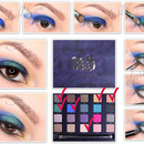 How to Apply butterfly makeup eyes