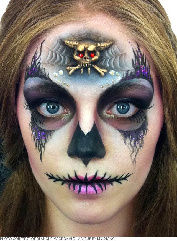 Sugar Skull Face Makeup