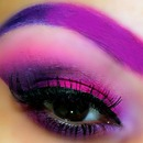 Dramatic Pink & Purple Look Using Sugar Pill Cosmetics