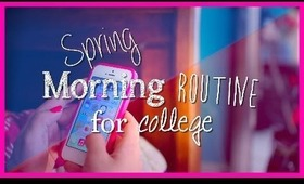 Morning Routine for school 2014