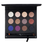 Luxe Anti-Aging High Performance Eye Shadow Palette with Dual Brush