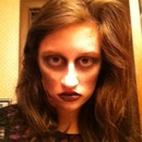 First attempt zombie makeup:)