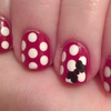 Minnie Mouse Mani