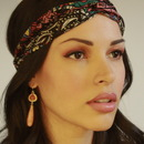 Head wrap and Gemstones