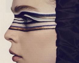 Loathe or Love: Striped Eye Liner