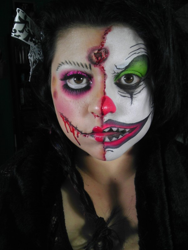 two face dollclown angie ms ladyaoffical photo