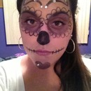 Day of the Day-Glam- Sugar Skull