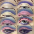 Easy cut crease fairy tutorial
