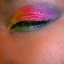 Smokey Rainbow Eyes