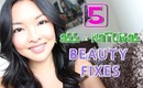 5 ALL- NATURAL Beauty Fixes You Should Know!