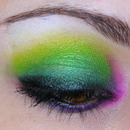 Sugarpill Green & Purple