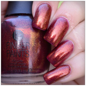 Swatch and review: http://www.thepolishedmommy.com/2014/02/fingerpaints-palette-perfection.html  #fingerpaints #sallybeauty #purchasedbyme #swatch