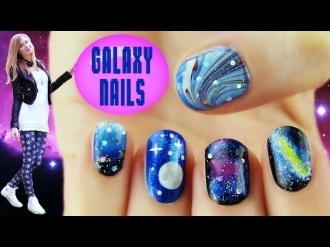 Taiwan Nail Art Design 5 Galaxy Nail Art Designs And