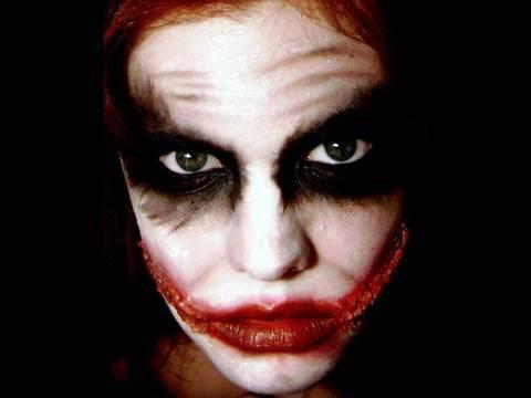 Gotham Series The Joker Makeup Tutorial Hollywoodnoirmakeup Video - Joker-makeup-tutorial
