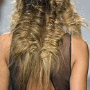Intensely textured fishtails!