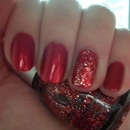 Nails Inc Villiers Street with China Glaze Love Marilyn