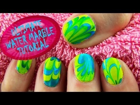 Ultimate Water Marble Nail Art Guide For Beginners