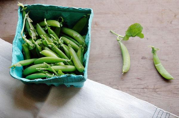 Recipes for Beauty: Sugar Snap Peas