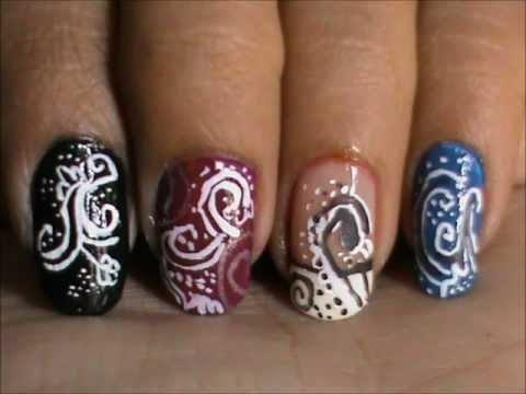 Magic Nails Abstract Nails Easy Nail Art For Short Nails Nail