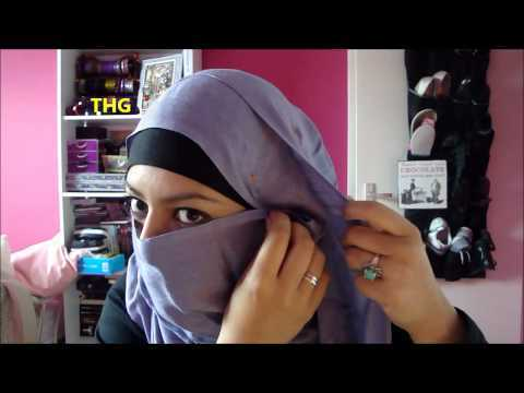 how to wear hijab step by step video download