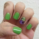 China Glaze Gaga For Green, Creative Fantasy, and Orly Can't Be  Tamed