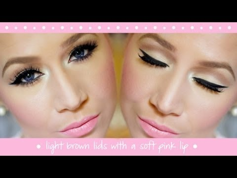 20 gallery images for prom makeup for brown eyes and pink dress