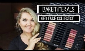 BareMinerals GEN NUDE COLLECTION | Swatches