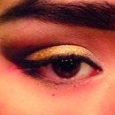 Cut Crease Black and Gold