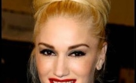 How To: Gwen Stefani Top Knot Swirl Hair Tutorial
