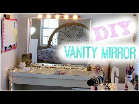 Diy Hollywood Vanity Light Mirror