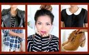 FALL FASHION HAUL! ♡ Zara, Urban Outfitters, Forever 21, H&M! - ThatsHeart