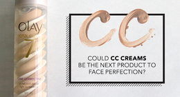 Could CC Creams Be The Next Product to Face Perfection?