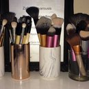 Makeup brushes have grown