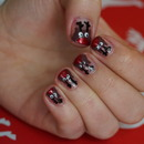 Cute Reindeer nails
