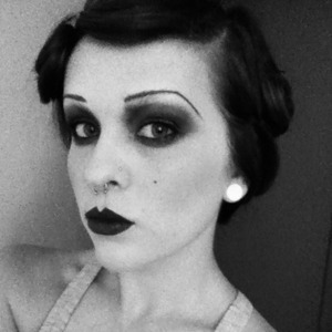 I saw The Great Gatsby today and was inspired to do a 1920s look. Find me on Instagram.