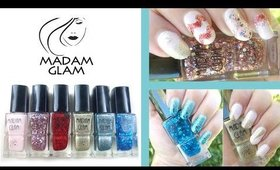 3 Nail Designs 1 Brand! Madam Glam Vegan Nail Polish Review