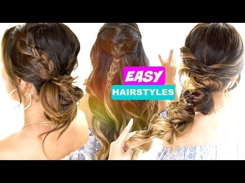3 Easy Back To School Hair Goals Cute 5 Minute Hairstyles Tina