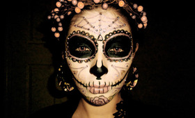 The Coolest Day of the Dead Sugar Skull Makeup Looks
