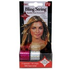 500' Hair Tinsel with Clips - Hologram Silver/Pink