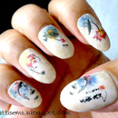 Ink Painting Water Decals