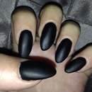 Matte Black Stiletto