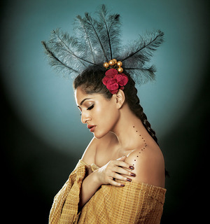 Himarsha Venkatsamy By Farzan Randelia Makeup, Hair & Styled by Sonam Chandna