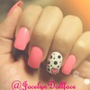 Pink Hearts And Polka Dots
