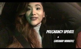 ♡ VLOG ♡ PREGNANCY UPDATE + GIVEAWAY WINNERS!