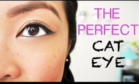 HOW TO: Get The Perfect Winged Eyeliner (Cat Eye)