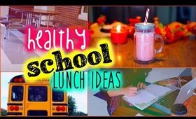 Healthy school lunch ideas: Back to school