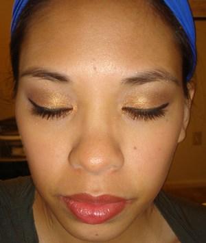 Bronze Eyes & Burgundy Lips Fall 2011