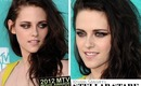 Kristen Stewart MTV Movie Awards 2012 Inspired Makeup Tutorial