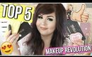 TOP 5 Favorite MAKEUP REVOLUTION Products | 2017