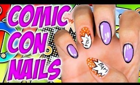 How To: Comic Con Nails